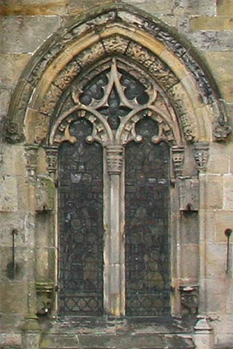 Rosslyn Chapel External Study In Photographs With