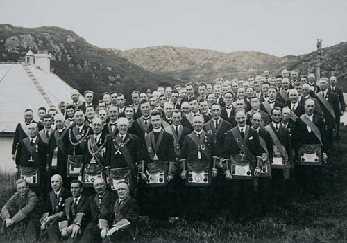 Lodge Opening 1933