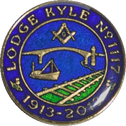 Lodge Kyle Centenary Colour Token side 1